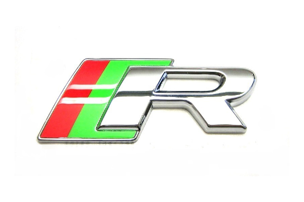 Jaguar R Grille Badge With Fixing - Style 2
